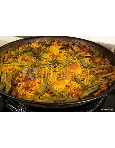 Arroz con Pollo y Verduras (min 2 pers.)